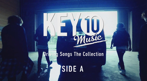 KEY10 Music Driving Songs The Collection MV